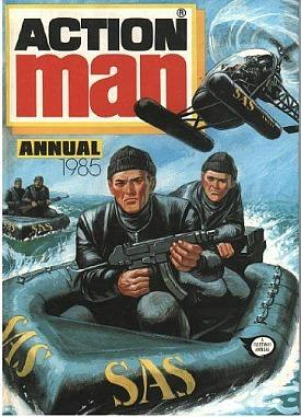 Action Man Annual 1985