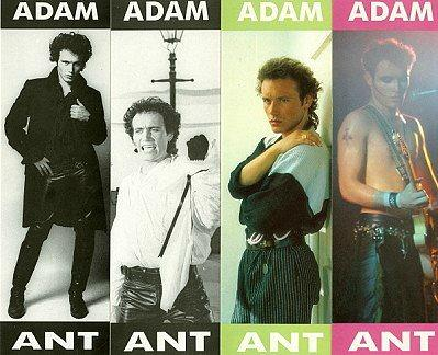 Adam Ant fashion in the 80s