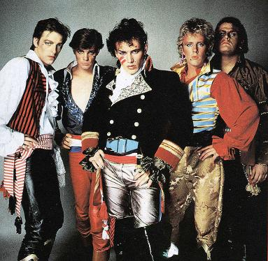 Adam And The Ants in 1981