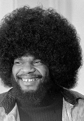 Billy Preston with 70s afro hair style