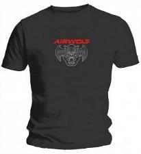 Mens Airwolf Logo Retro TV T-Shirt
