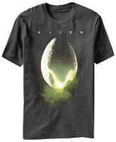 Alien Egg Retro Movie T-shirt