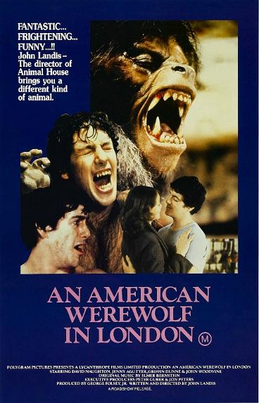 An American Werewolf In London - Film Poster