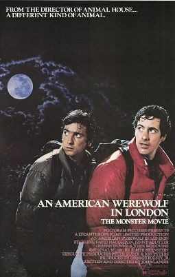 An American Werewold In London Movie Poster