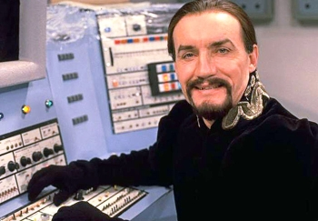 Anthony Ainley as The Master in classic Doctor Who
