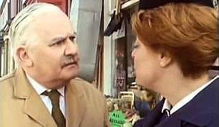 Arkwright and Nurse Gladys Emmanuel in Open All Hours