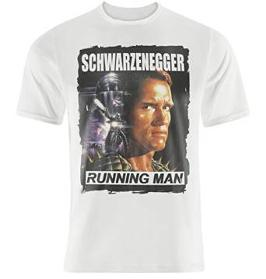 Schwarzenegger The Running Man 80s Movie T-shirt