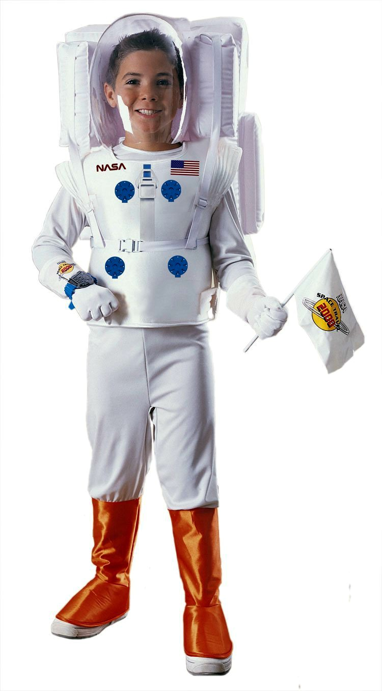 Astronaut Spaceman Costume for Boys