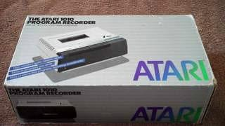 Atari 1010 Program Recorder in its box