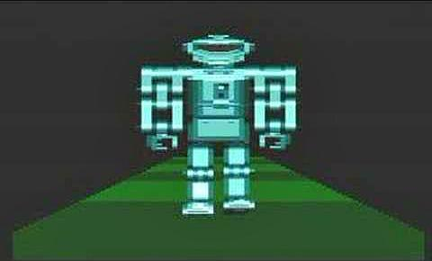 Atari XL/XE Walking Robot Demo