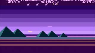 Purple background in Atari XL/XE Attack of the Mutant Camels