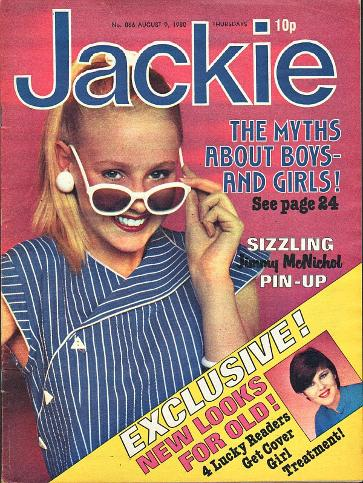 Jackie magazine August 9th 1980