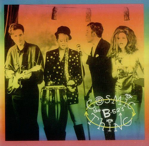 The B-52's - Cosmic Thing album sleeve