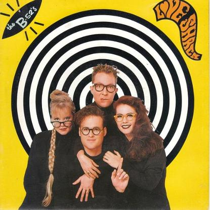 The B-52's - Love Shack (single sleeve)