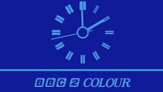 BBC2 clock from 1972