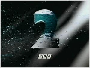 BBC2 ident (1991 to 2001) featuring paint