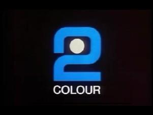 BBC2 Colour logo from 1967