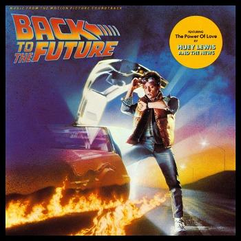 Back To The Future Soundtrack album sleeve