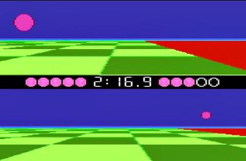 Ballblazer Game on the Atari 7800