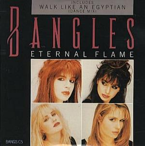 Bangles - Eternal Flame - UK 3 Track CD Single in Picture Slipcase