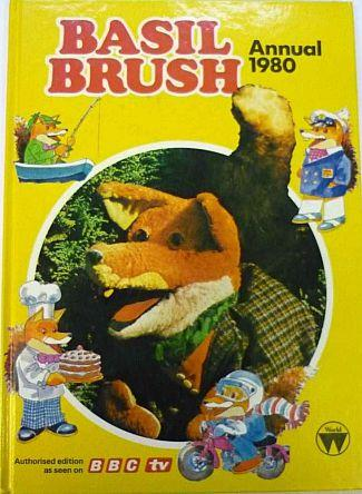 BBC TV Basil Brush Annual 1980