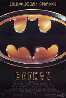 Batman - 80s Movie Poster from 1989