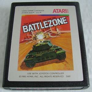 Battlezone - Atari 2600 cartridge