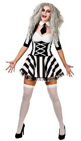 Unofficial Beetlejuice Costume for Ladies
