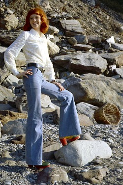 70s Bell Bottoms