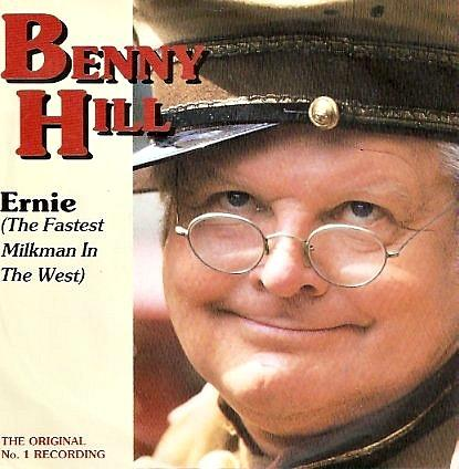 Benny Hill - Ernie (The Fastest Milkman in the West) vinyl 7
