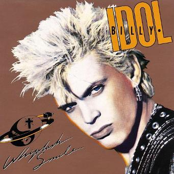Whiplash Smile - Billy Idol (1986) album sleeve
