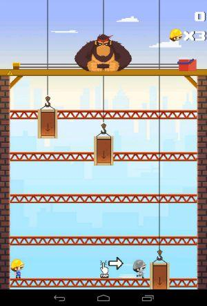 Blocky Kong Level 1