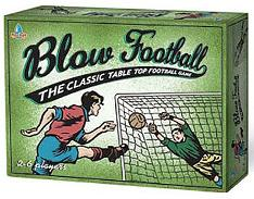 Blow Football retro table top game