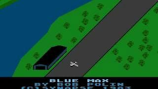 Blue Max (1983) - game screenshot from the Atari 800XL version