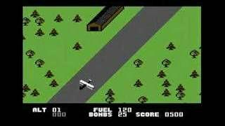 Blue Max - screenshot from C64 version