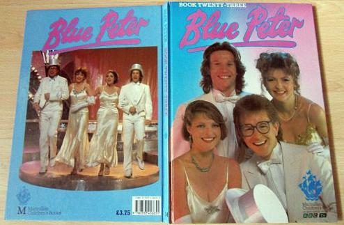 Blue Peter Annual 1987 - Janet Ellis, Peter Duncan, Caron Keating and Mark Curry