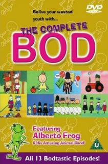 The Complete Bod - 70s Cartoon DVD