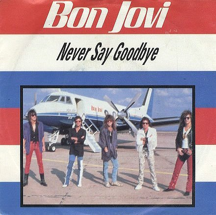 Never Say Goodbye imported single