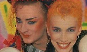 Boy George and Annie Lennox - 1983