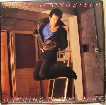 Dancing in the Dark vinyl single - Bruce Springsteen