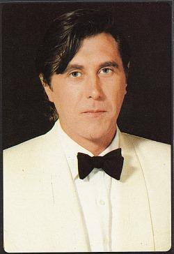 Bryan Ferry Panini sticker from Smash Hits magazine in 1984