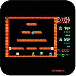 Bubble Bobble 80s Video Game Drinks Coaster Gift