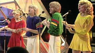 Bucks Fizz at Eurovision Song Contest in 1981