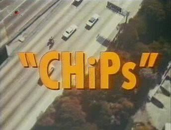 CHiPs title screen from the 80s TV Series
