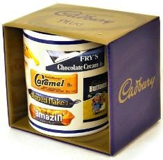 Cadbury's Retro Chocolate Bar Wrappers Mug
