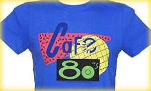Cafe 80's Back To The Future II T-shirts