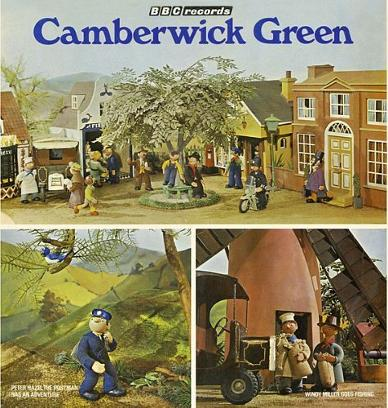 Camberwick Green BBC Records LP 1970s