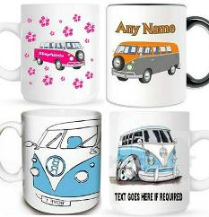 Personalised Camper Van Mugs at Amazon.co.uk