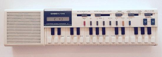 Casio VL-Tone VL-1 Synth, Sequencer and Calculator