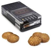 Cassette Player Biscuit Tin